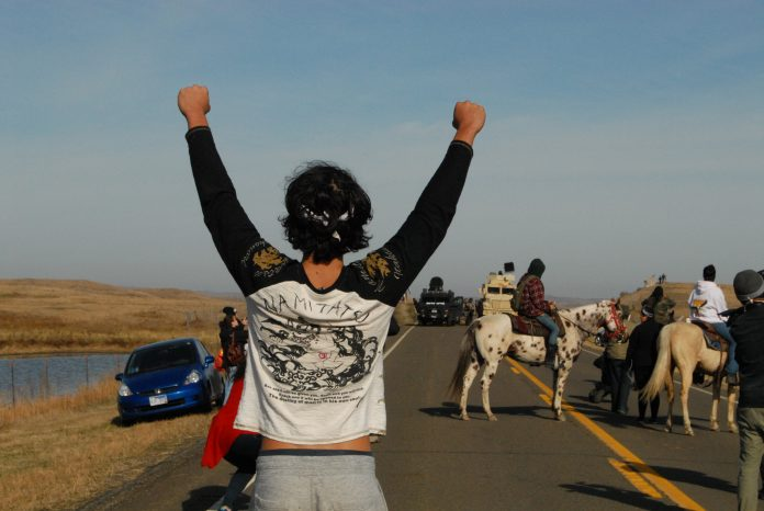 nodapl, standing rock, north dakota, police, protest, dakota access
