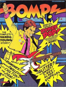 The cover of the March 1978 edition of Bomp!